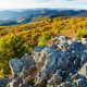 Bearfence Mountain at Golden Hour int Shenandoah National Park