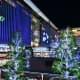 Dazzling Christmas trees were everywhere, transforming Hakata Station into a winter wonderland.