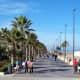 Seafront promenade, Valencia.