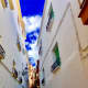 Narrow street which has maintained the layout of how people built during the Moorish period.