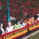 A kiddie train ride at Hershey Park