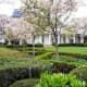 Rose Garden at the White House in Washington DC