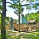 Fun playground for kids in Donovan Park