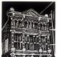 Limited edition linocut by Peggy Woods of Trueheart-Adriance building in Galveston