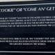 """Info regarding """"The Cookie"""" Sculpture"""