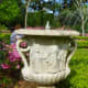 Urn not yet planted for the season