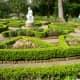 Formal beds in Clio garden