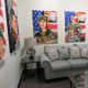 A room inside of the Fallen Warriors Memorial Gallery