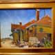 Artist Jack Erwin (1920-2009) Hillsboro R.R. Station