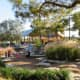 Pretty landscaping with native plants