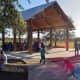 Exploration Park showing Pavilion and Musical Bridge