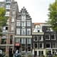 A gable perspective of Amsterdam.