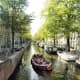 Open boat tour of Amsterdam.