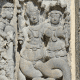 A Hoysala sculpture of a Naga couple.