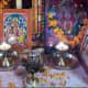 Hindu household shrine in India.