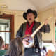 Banjo Billy entertained us on the way back to the hotel.