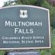 Multnomah Falls sign