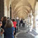 Early morning at the Doge's Palace and the queues are starting to form