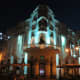 Reok Palace at night in December