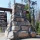 Crater Lake National Park North Entrance sign