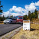 Moose-Wilson Road in Grand Teton National Park, Wyoming