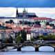 Closing in on Prague Castle.