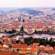 Towards Prague Old Town.