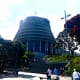 The Beehive—the Executive Wing of the New Zealand Parliament Buildings