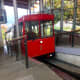 The Cable Car Arriving at the Kelburn Terminus