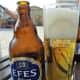 Efes, Turkish beer.