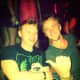 Rupert Grint and Tom Felton partied in Las Vegas together in 2013.
