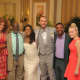 Karyn Parsons, Joseph Marcell, and Alfonso Ribiero reunited for Tatyana Ali's wedding in 2016!