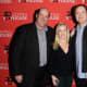 Brian Baumgartner, Angela Kinsey and Rainn Wilson.
