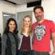 Janina Gavankar (Luna on True Blood), Deborah Ann Woll, and Joe Manganiello met up again after the show.