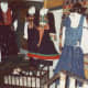 Clothing displayed at Little Norway