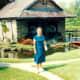My Mother at Bellingrath Gardens