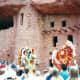 Indians dancing at Manitou Cliff Dwellings