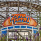 Zippin Pippin is the only roller coaster at Bay Beach Amusement Park in Green Bay.