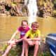 Great photo opportunity at Waimea Falls