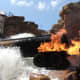 Special Effects Demonstration on the Back Lot Tour at Disney's Hollywood Studios