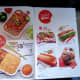 New menu with new food as of Jan 2014