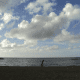 A Late Afternoon Photo of the Sea at Laiya