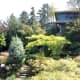 The Seasons in the Park restaurant overlooks the smaller quarry garden.
