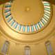 Interior of the original rotunda dome.