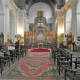 Inside the Cathedral of St. Cyril and St. Methodius.