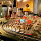 """HO-gauge model trail layout inspired by BNSF's """"Empire Builder"""" route from Seattle to Chicago at the Museum of Science and Industry in Chicago, Illinois"""