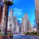 Magnificent Mile in Chicago, Illinois