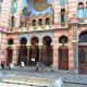 Entrance to Jerusalem Synagogue.