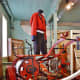 19th century hand-powered pump