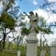 Albert Erickson monument in Glenwood Cemetery